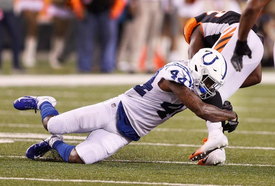 """In two days last week, Lenzy Pipkins went from the practice squad to the Colts staring lineup. """"We really need you,"""" Pipkins remembers GM Chris Ballard telling him."""