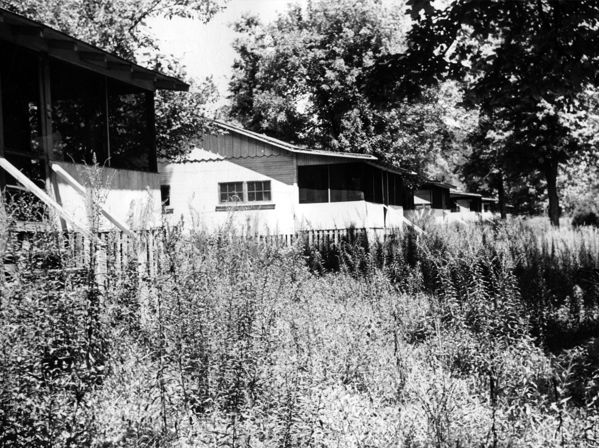 Once there were twenty cottages and a well-kept lawn on Rose Island.