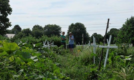 St. Alban's urban garden farm