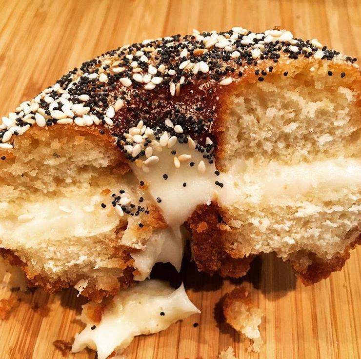 The Everything Doughnut at Rebellion Doughnuts in...