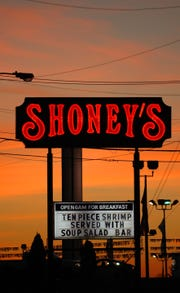 Part of the American roadside for almost 50 years, Shoney's has weathered growing competition. The restaurant at Kingston Pike and Walker Springs Road was torn down recently.