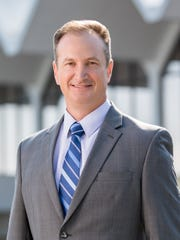 Patrick Wilson, the incoming president of the Metropolitan Knoxville Airport Authority.