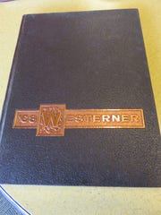 Cover of 1968 West High yearbook, the Westerner.