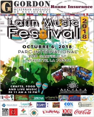 The Asociacion Cultural Latino-Acadiana (ACLA) presents the 16th Latin Music Festival set for Oct. 6 in Parc International in downtown Lafayette.