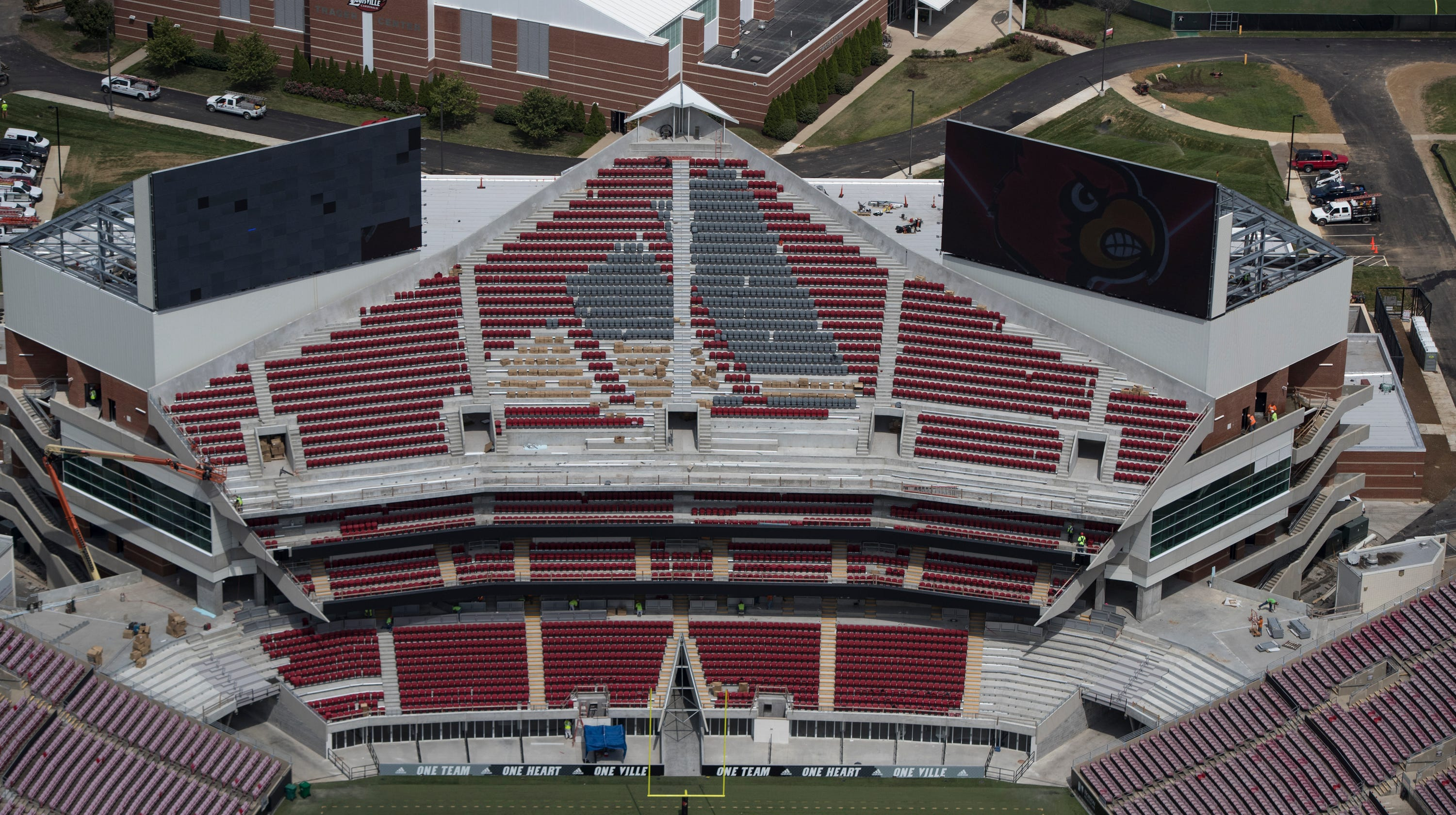 Louisville football ready for Saturday at renovated stadium
