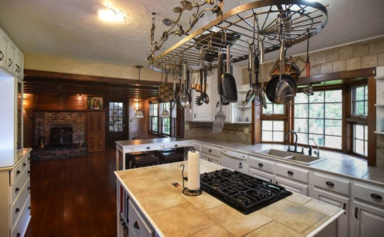 The kitchen in the historic Shaft homestead in Shaftsburg.  The five bedroom farmhouse  was built in 1846.