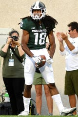 MSU senior receiver Felton Davis was MSU's go-to target before Cody White's injury. Now he's the unquestioned No. 1 guy.