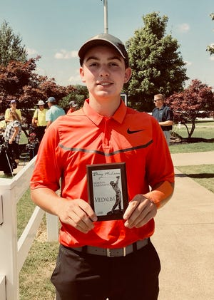 Ashland senior Max Watson has qualified for a repeat trip to the Division I state golf tournament.
