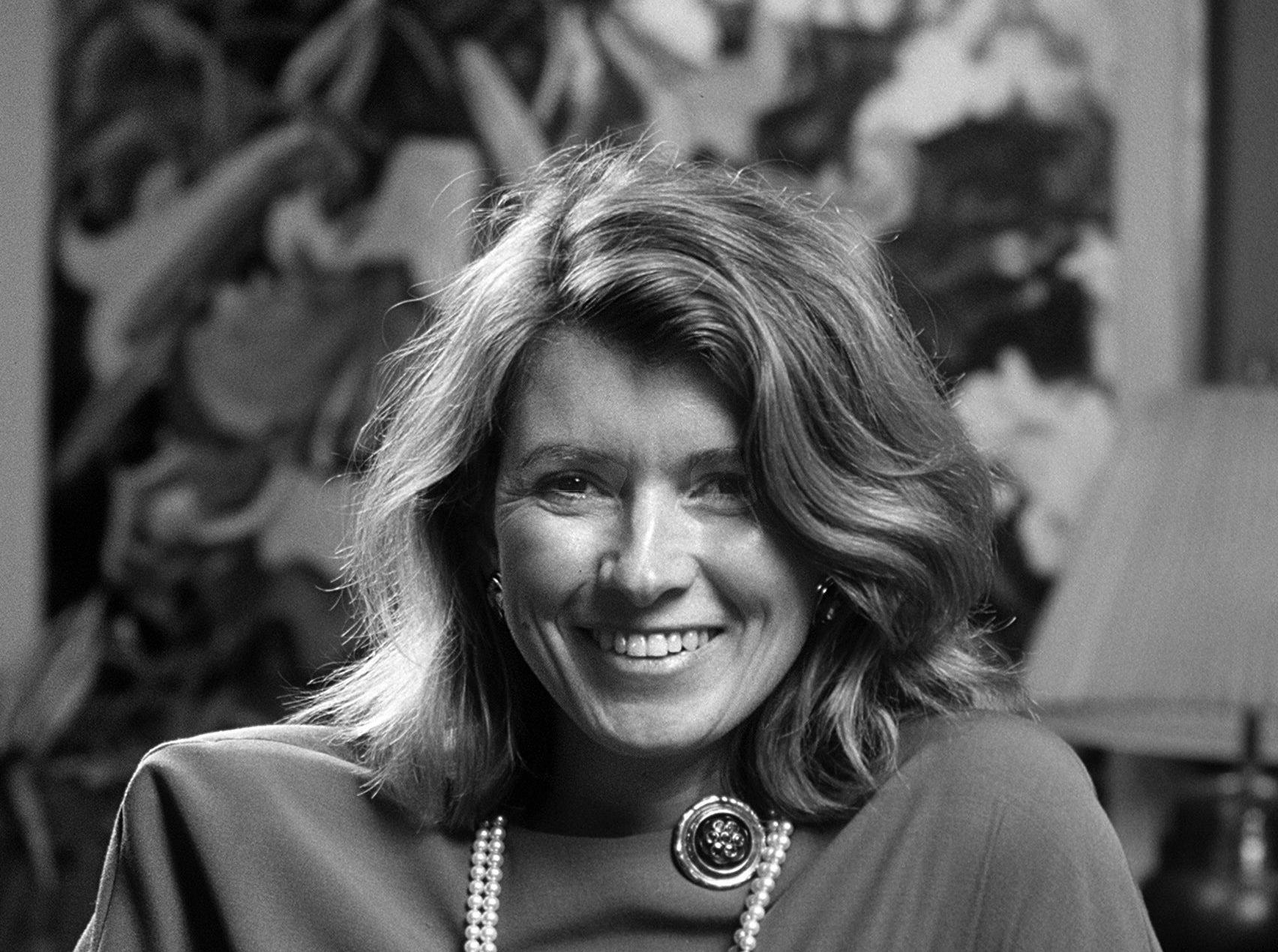 Martha Stewart, author of the popular books ?Entertaining? and ?Quick Cook? brought her expertise to Memphis on 16 Feb 1984. She was here to address members of the Memphis Garden Club and The Little Garden Club, affiliates of the Garden Club of America.
