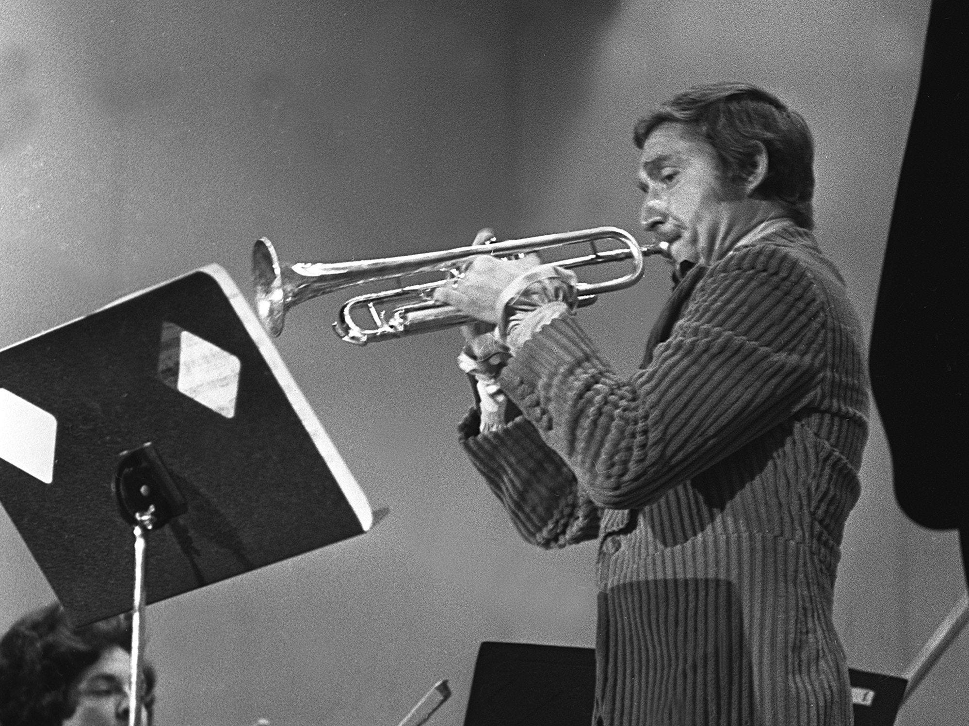 Doc Severinsen brings his exceptional musical talents to the Memphis Symphony and the Auditorium in February 1970.