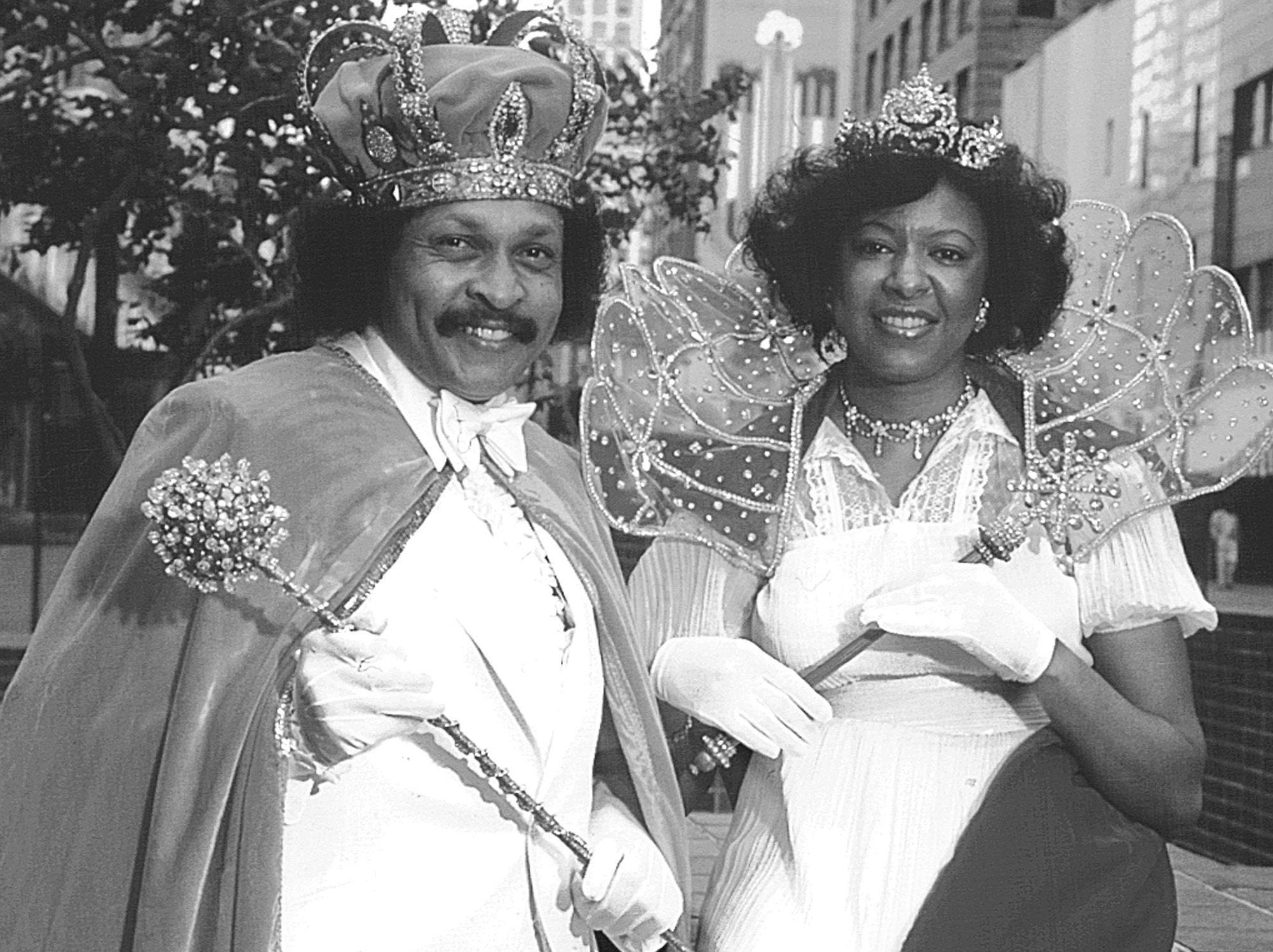 Randle Catron and Dorothy Jean Jackson, as king and queen of the Cotton Makers Jubilee, will be part of the sweeping changes in Cotton Carnival's structure for 1981.  Cotton Makers join six former secret societies - Memphi, Osiris, Ptah, Ra-Met, Shelbi and Sphinx - and the Grand Krewe of the Nile, the newest carnival organization as carnival grand krewes.