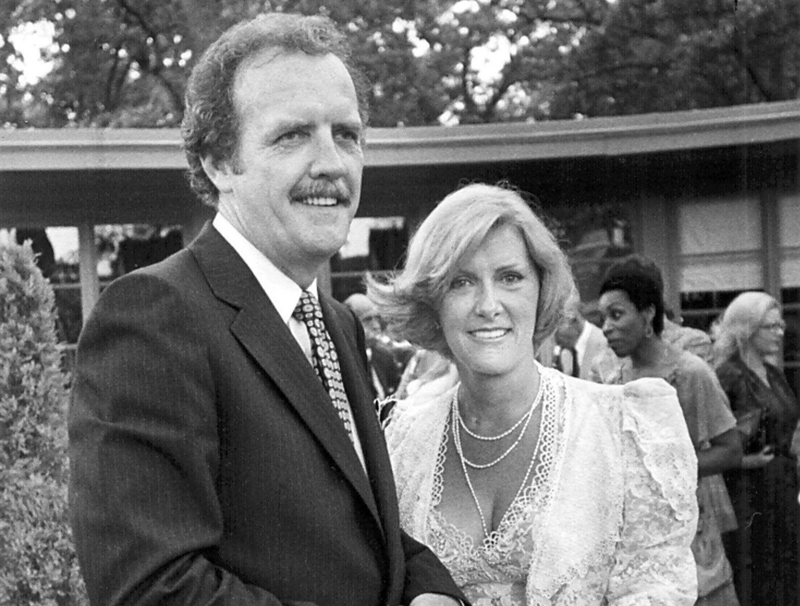 Dr. and Mrs. Charles White celebrate their marriage on 28 Jun 1980.