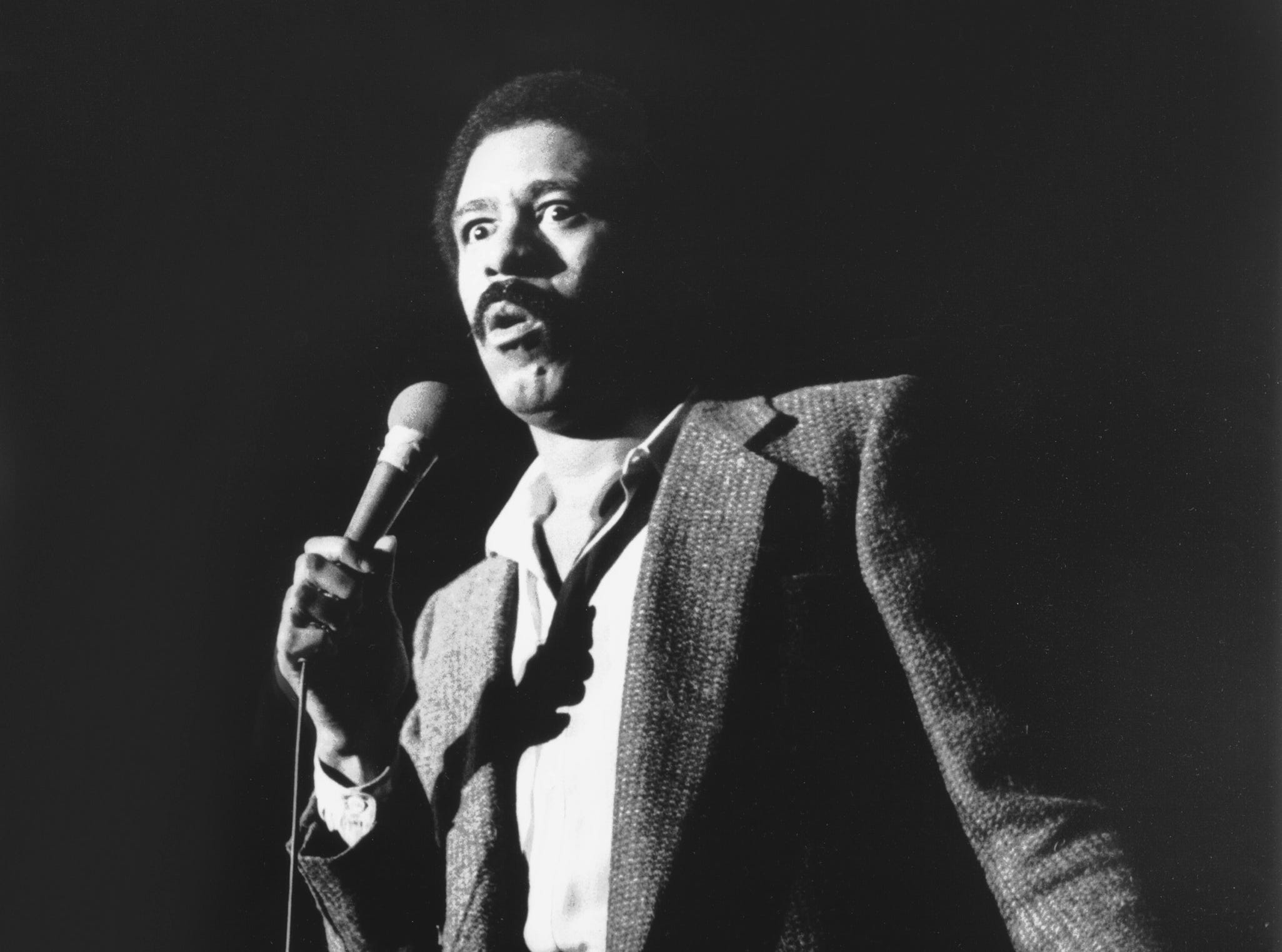 Richard Pryor brought his adult comedy routine to the Mid-South Coliseum on Nov. .22, 1978.