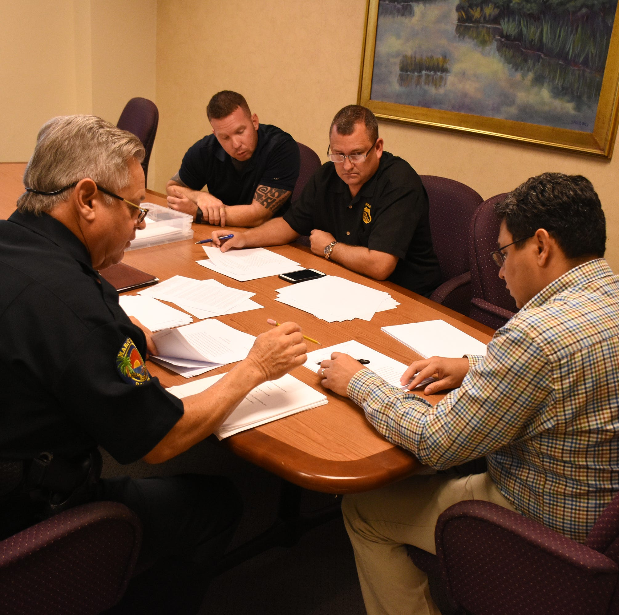 Despite meeting snafu, Marco police union negotiations progressing