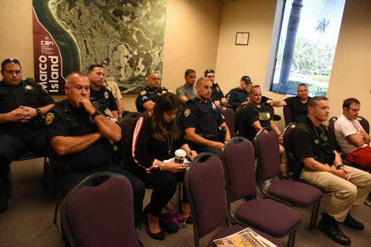 City officials and police union representatives held their second meeting Tuesday morning at City Hall, trying to come to agreement on a contract for the police rank and file.