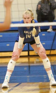 Brookfield Central freshman Mckenna Wucherer is already making a big impact as an outside hitter for the Lancers.