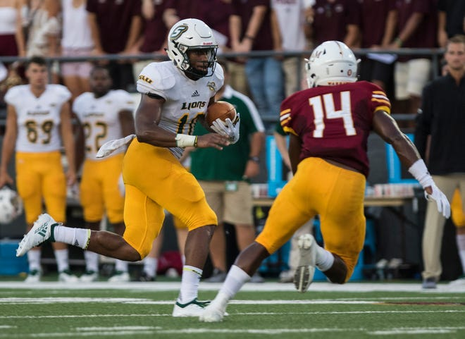 ULM's defense allowed 12.6 yards per completion but set up the game-winning drive by forcing SLU to punt. The Lions punted five times in ULM's 34-31 win.
