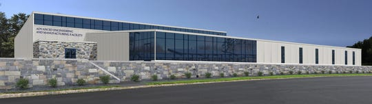 A rendering of the new 31,000-square-foot regional Advanced Engineering and Manufacturing Center at County College of Morris. Groundbreaking is scheduled for October.