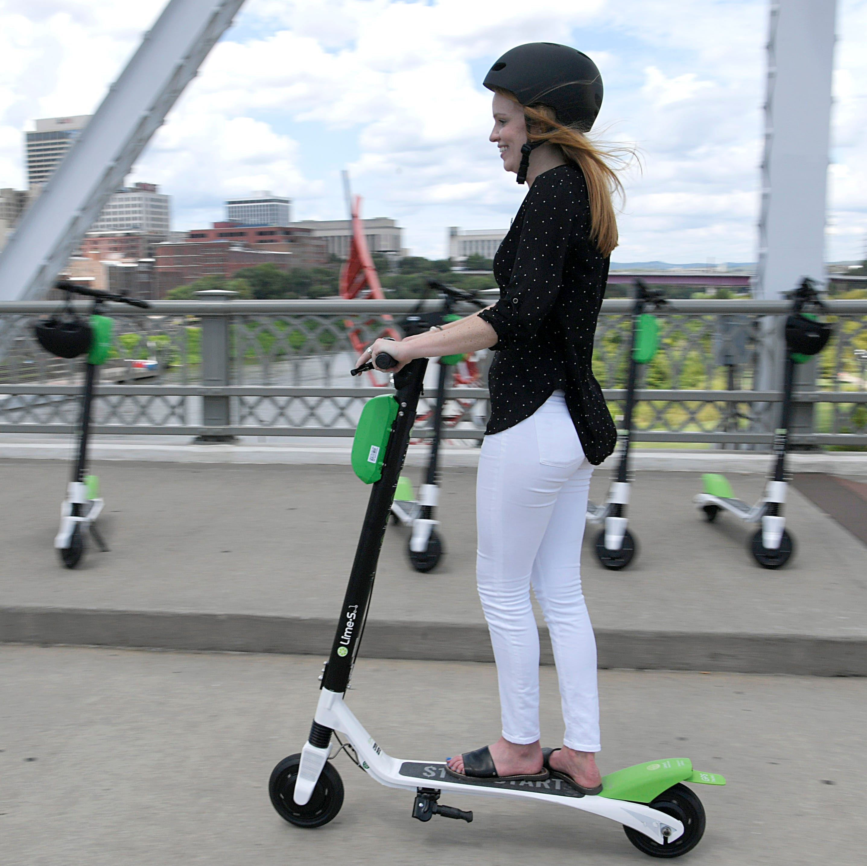 Electric scooters  will arrive in Knoxville today. Here's what you need to know.