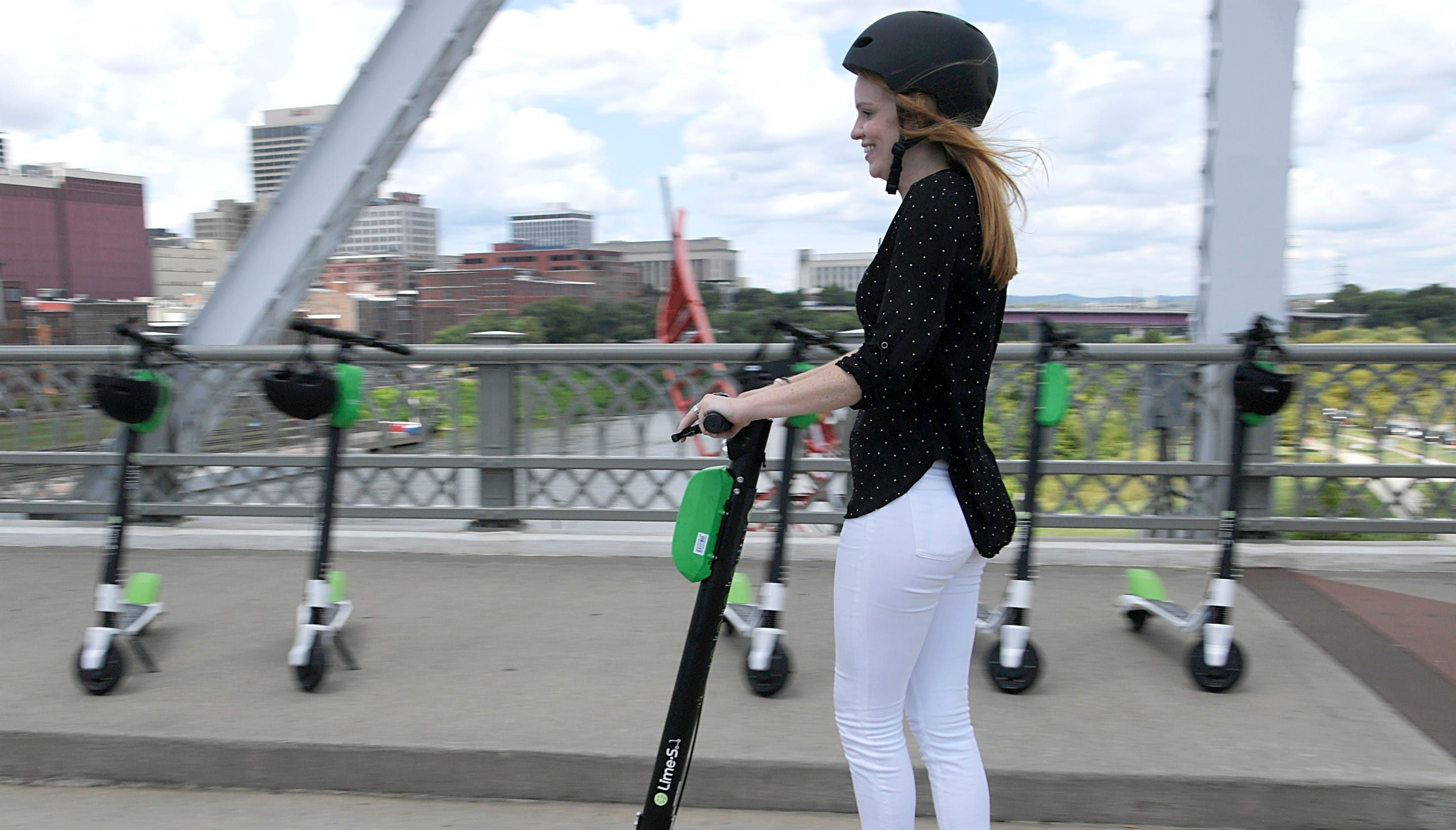 Electric scooters launch in Knoxville tomorrow  Here's what
