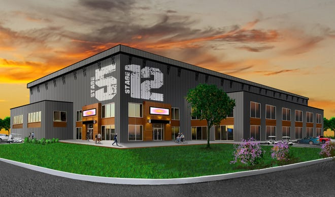 A rendering of one of the production facilities at the multi-use Gray Matter Studios coming to Hendersonville.