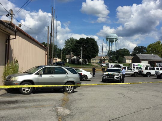 Tennessee Bureau of Investigation agents responded to an officer-involved shooting in Greenbrier on Aug. 31, 2018.