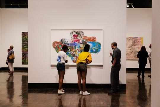 Members enjoy a preview exhibit at the Frist Art Museum in Nashville.