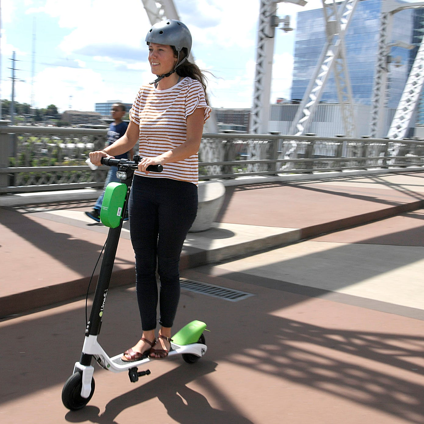 Our problem is not electric scooters like Lime, Bird, Lyft or Uber. It is Nashville's lagging infrastructure. | Plazas