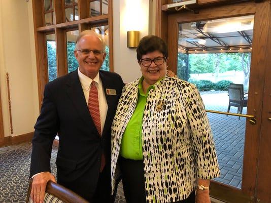 Julian Bibb And Judy Hayes