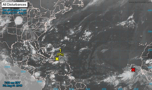 AUG 31 TROPICAL WAVE