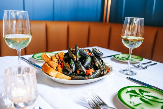 Mussels at No. 12 in Ridgewood