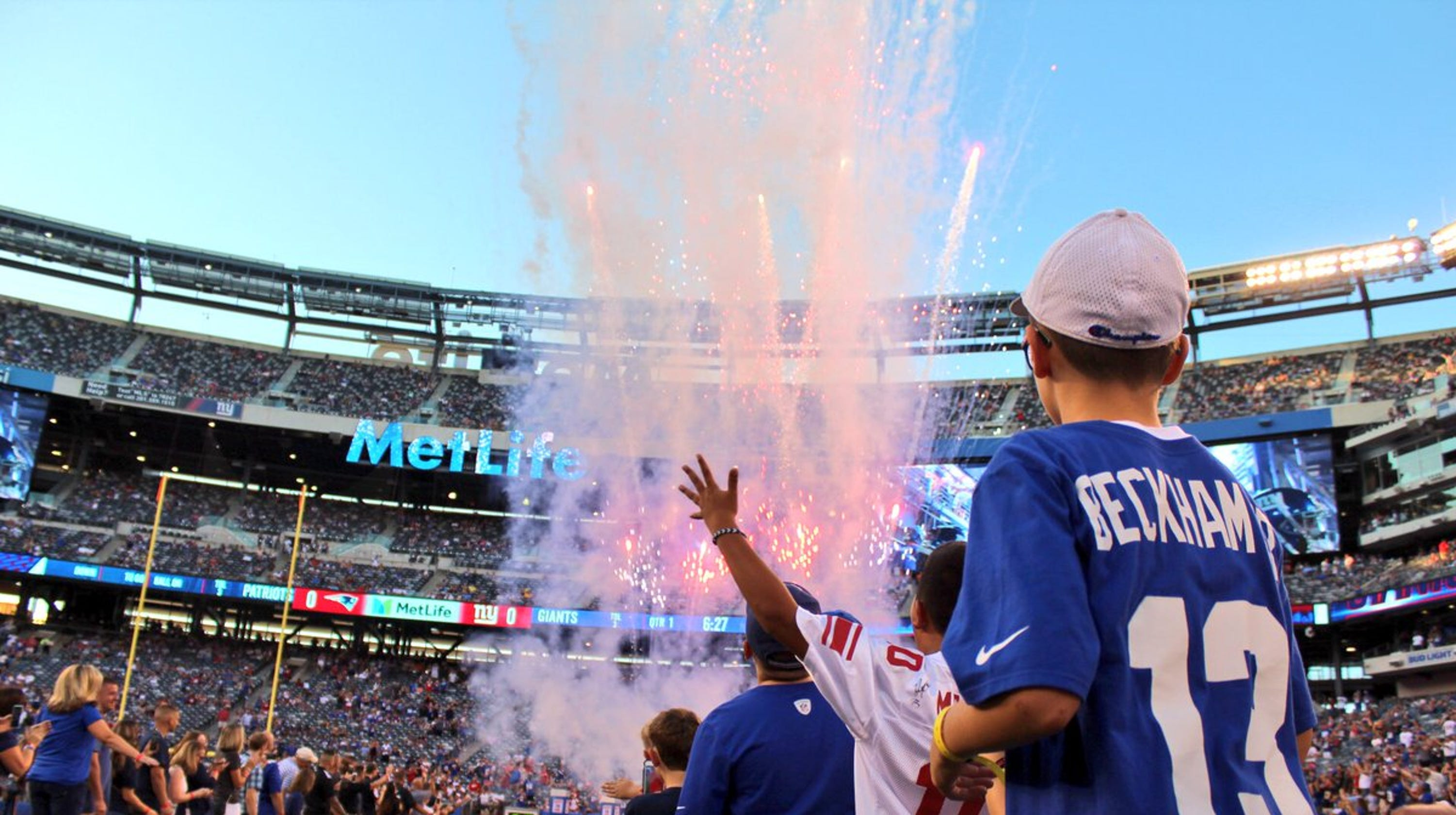 e05ff4488 Paramus bus crash survivors welcomed by NY Giants at MetLife Stadium