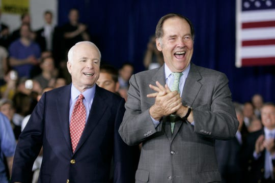 """Kean credited McCain with running interference when the 9/11 Commission ran into a roadblock when seeking access to secret intelligence information. """"Every time we ran into a problem, he was there by our side,"""" Kean said."""