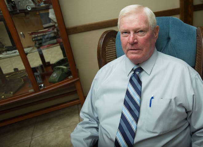 Terry Getz, owner of Getz Funeral home, discusses on Friday Aug. 31, 2018 his 50 years in the funeral business. The funeral home is located at 1410 E. Bowman Ave., Las Cruces.