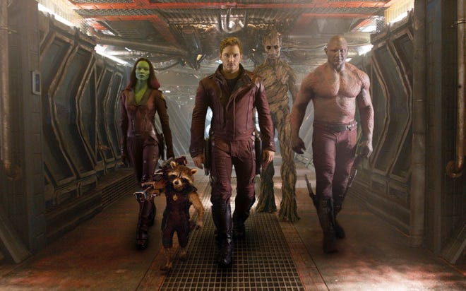 """Guardians of the Galaxy, Vol. 2"" will show at Young Park on Saturday."