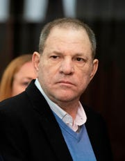 Harvey Weinstein attends his arraignment at the Manhattan Criminal Court in New York on May 25, 2018.