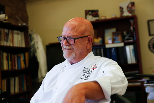 Robert Witte got his first job in a restaurant when he was 13 as a dishwasher and was a cook by the time he was 17.