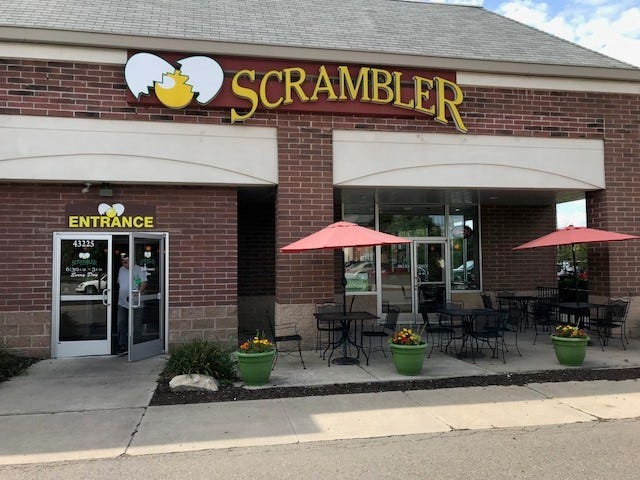 Scramblers restaurants in Michigan, including this one in Canton, have gotten a makeover.