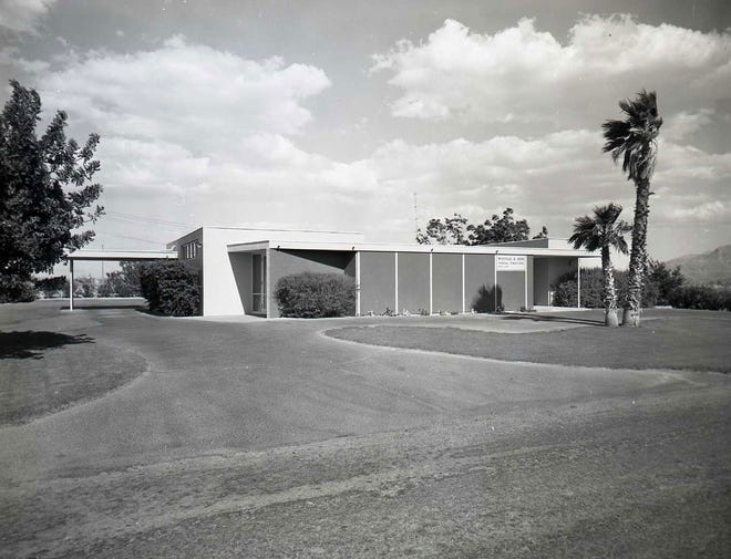 Wiefels and Sons Mortuary 1957.