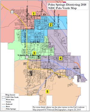 The proposed Palo Verde map
