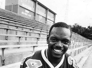 NFL Hall of Famer Emmitt Smith during his days at Escambia High School.