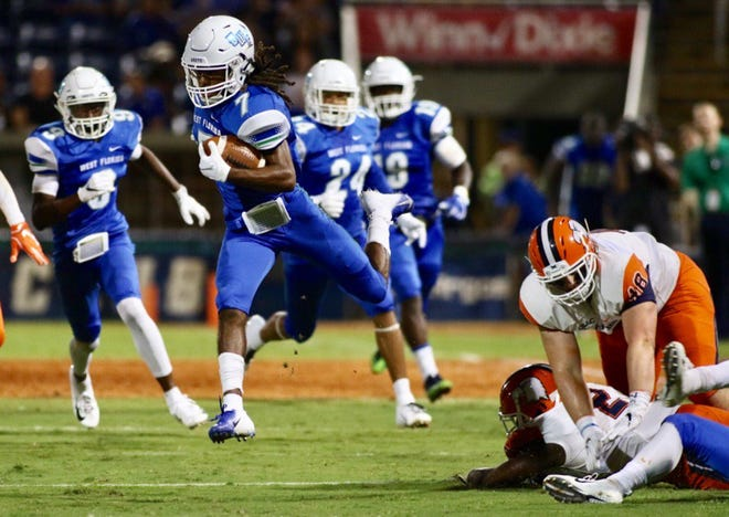 The University of West Florida takes on Carson-Newman on Thursday, Aug. 30, 2018, at Blue Wahoos Stadium in Pensacola.
