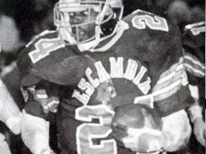 NFL Hall of Famer Emmitt Smith during his playing days at Escambia High.