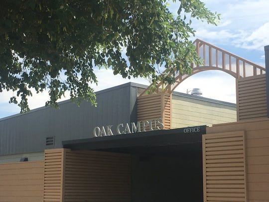 The district announced Thursday that Navajo Elementary students will finish out the school year at the district's Oak Streetcampus after a fire broke out at the school.