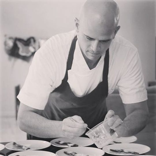 Chef Cory Oppold of Atlas Bistro.