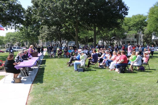 Ottawa County hosted its second annual Overdose Awareness Day at the courthouse lawn on Friday.