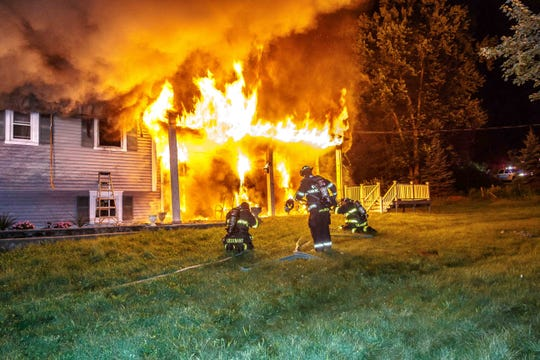 A fatal house fire Friday at  26 Relyea Terrace in Wappinger.