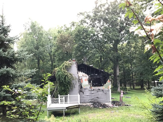A 7-year-old boy died in a fire that ravaged this Wappinger home early Friday.