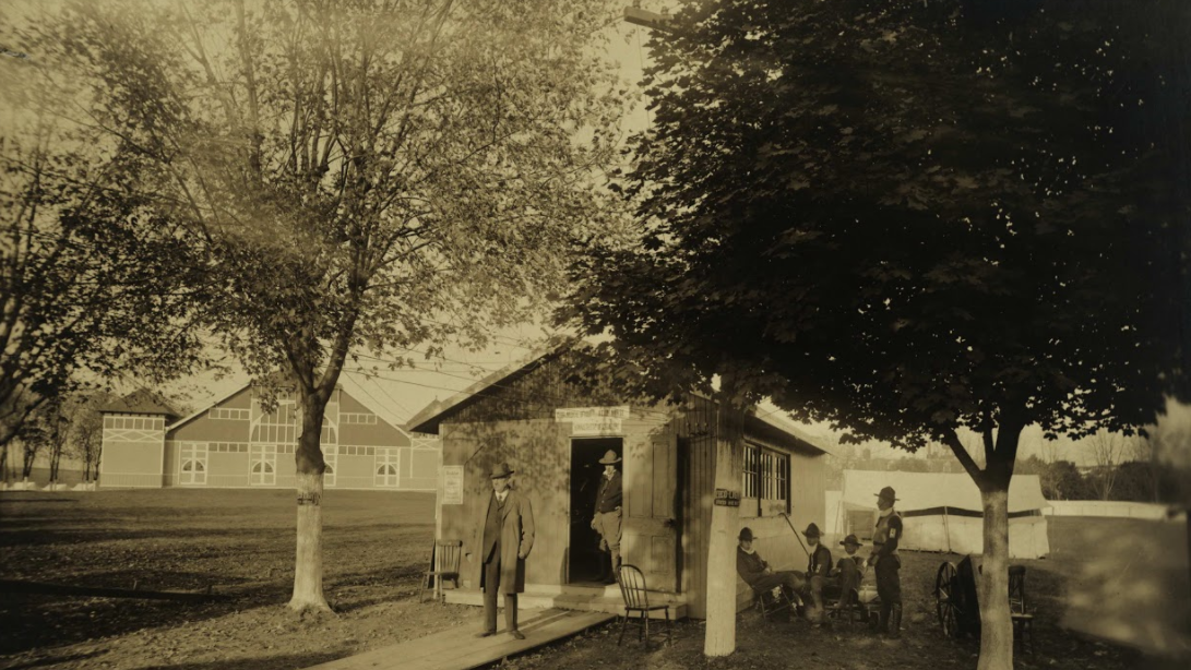 Spanish flu closed the York Fair in 1918, and the fairgrounds became a makeshift hospital