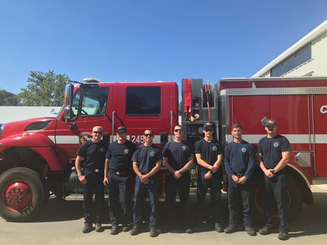 The firemen at Station 58.